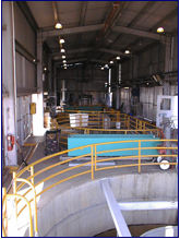 FISH COLLECTION TANKS AT TRACY FACILITY